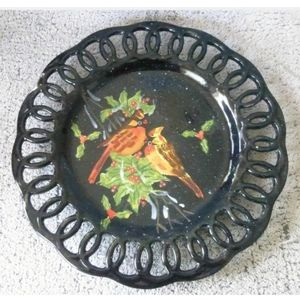 Decorative Charger Plate Ceramic Display WCL